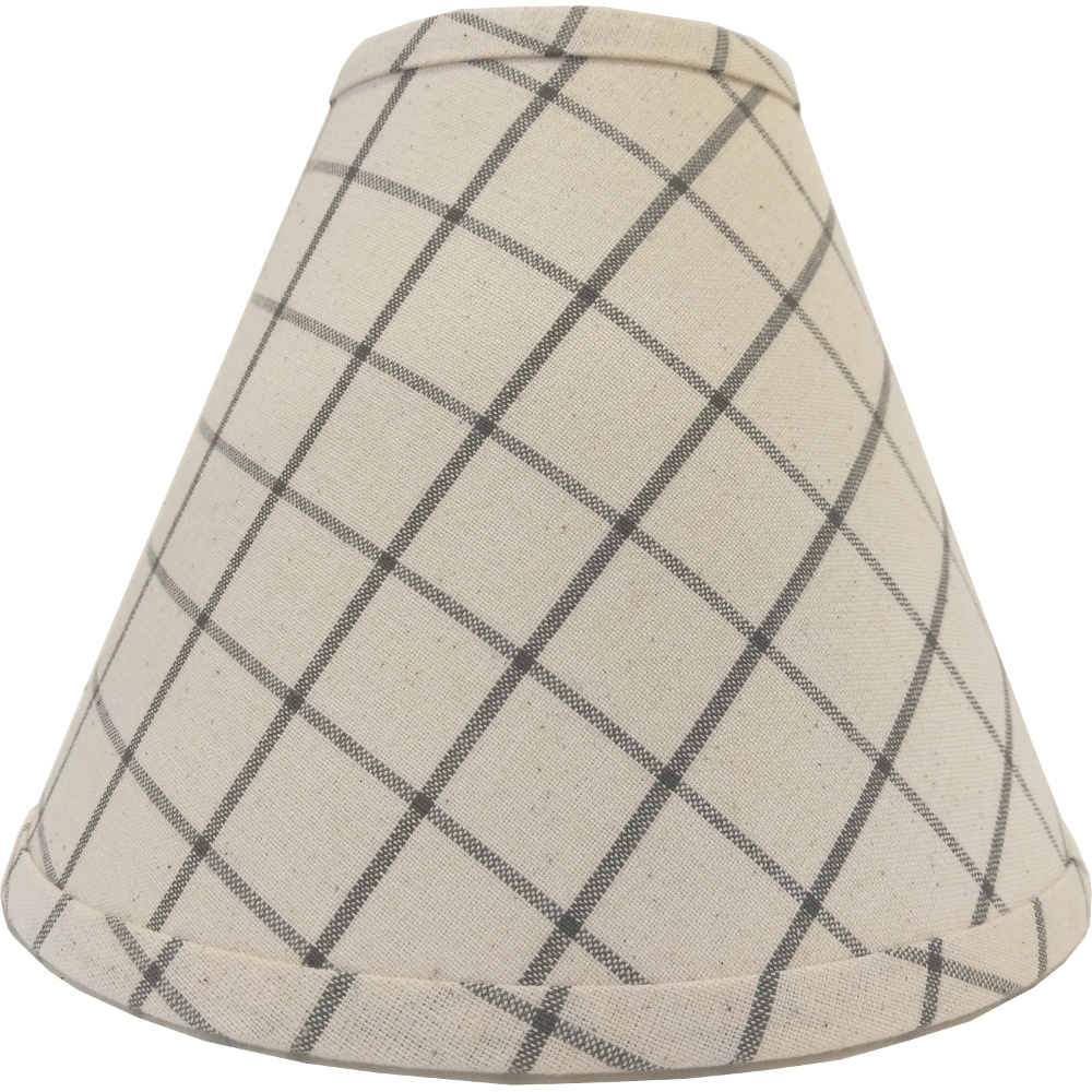 "Summerville Pewter-Cream 10"" Clip Shade"