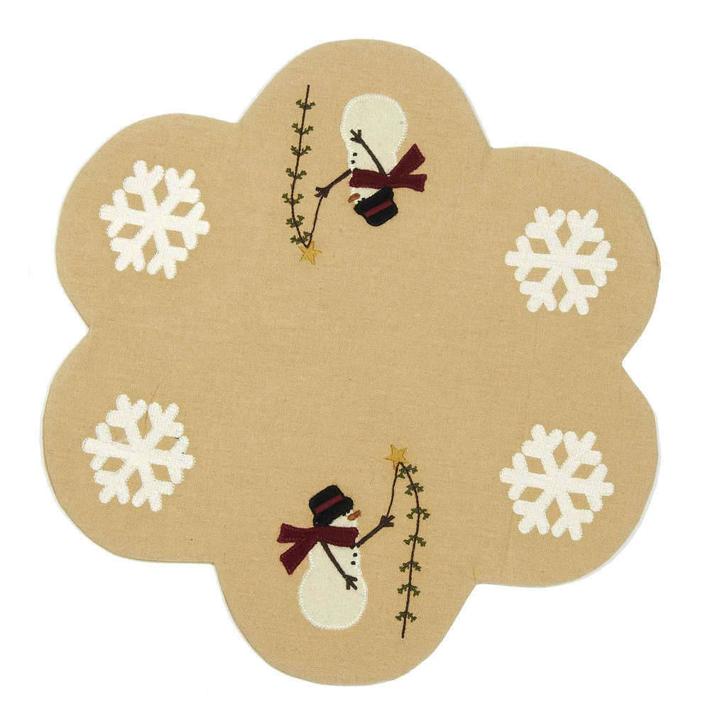 Pine Tree Wishes Candle Mat