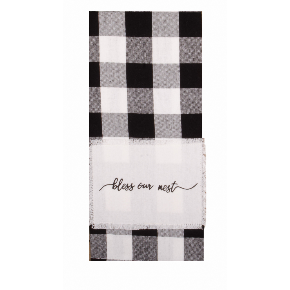 Buffalo Check Bless Our Nest Towel