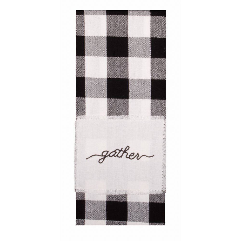 Buffalo Check Gather Towel