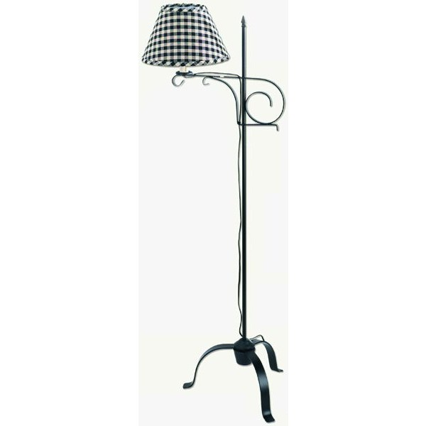 Metal Floor Lamp with Adjustable Arm