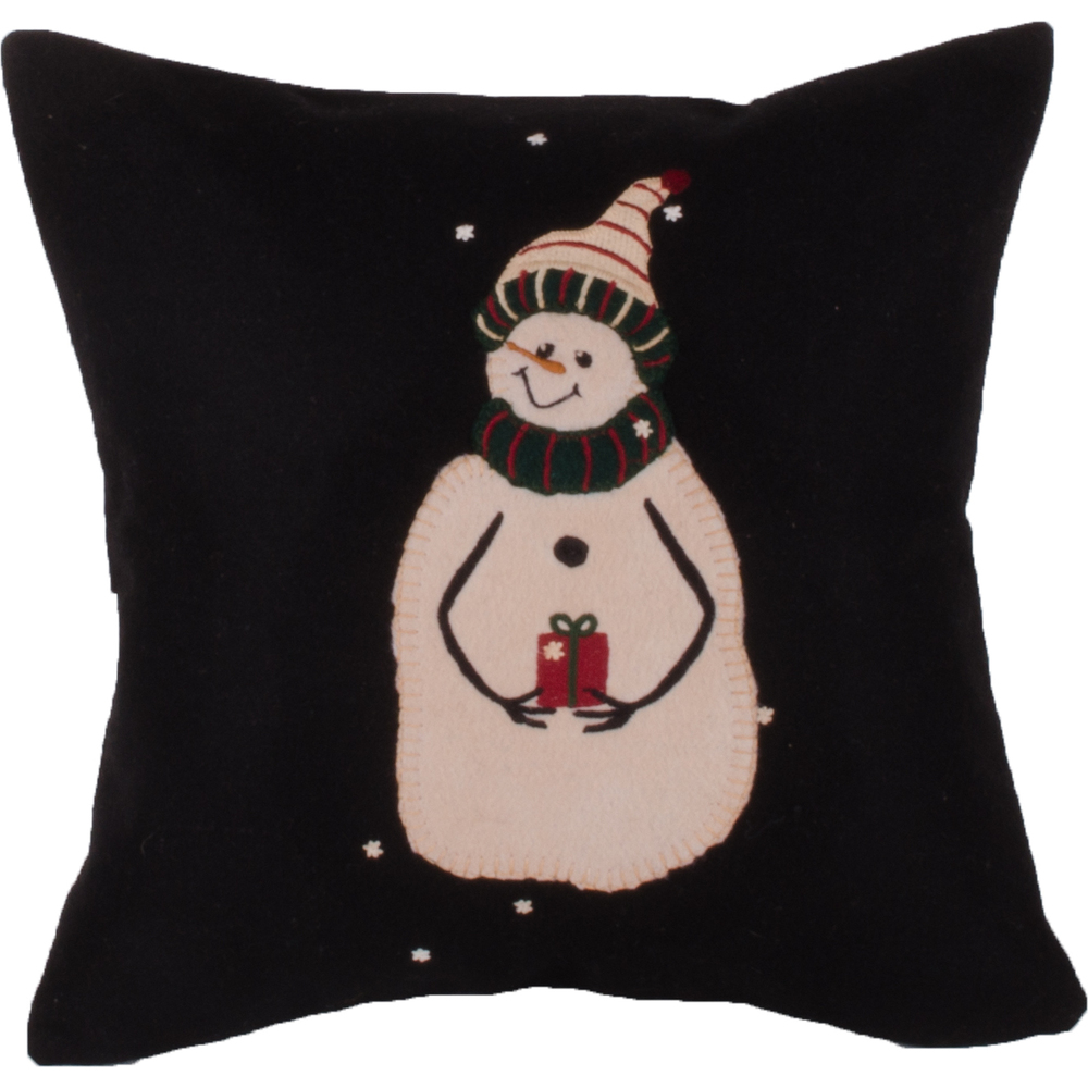 A Gift Pillow Black