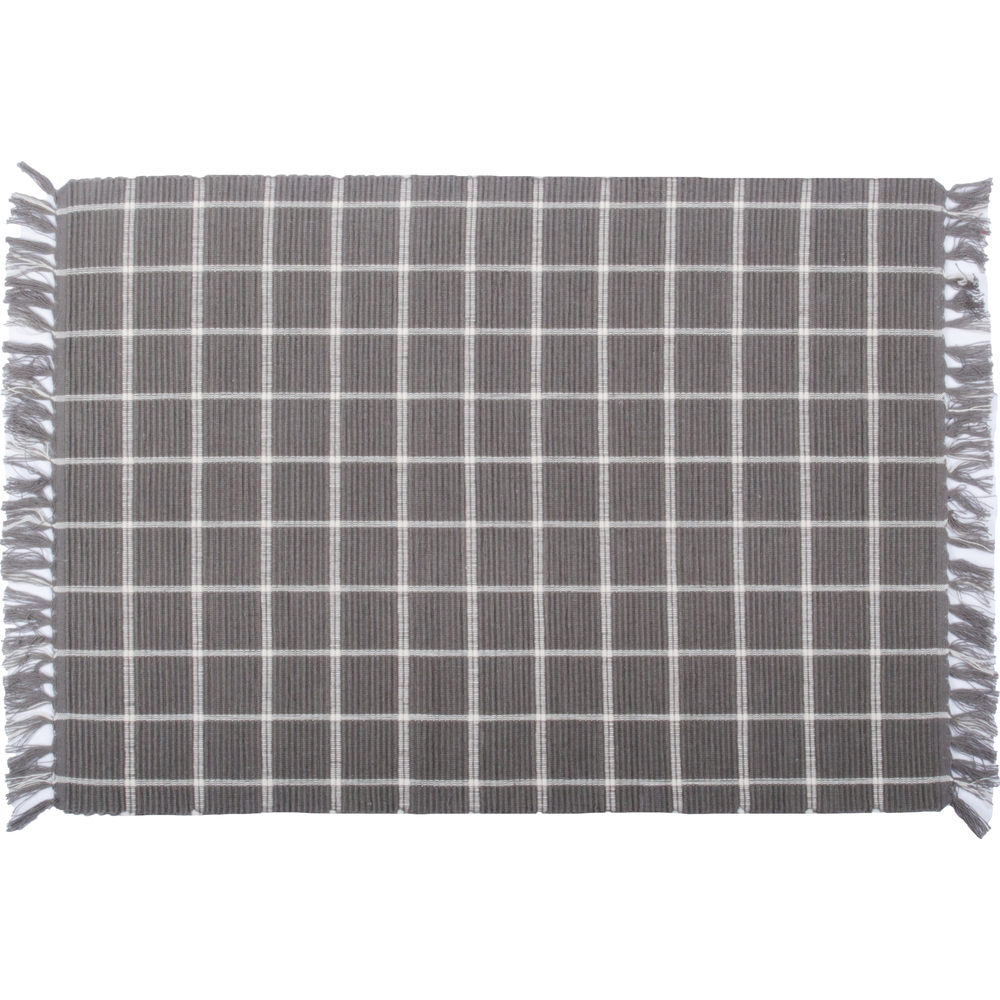 Summerville Pewter-Cream Placemat