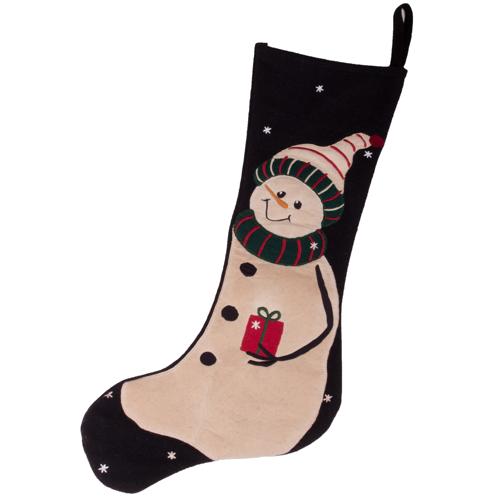 A Gift Stocking Black