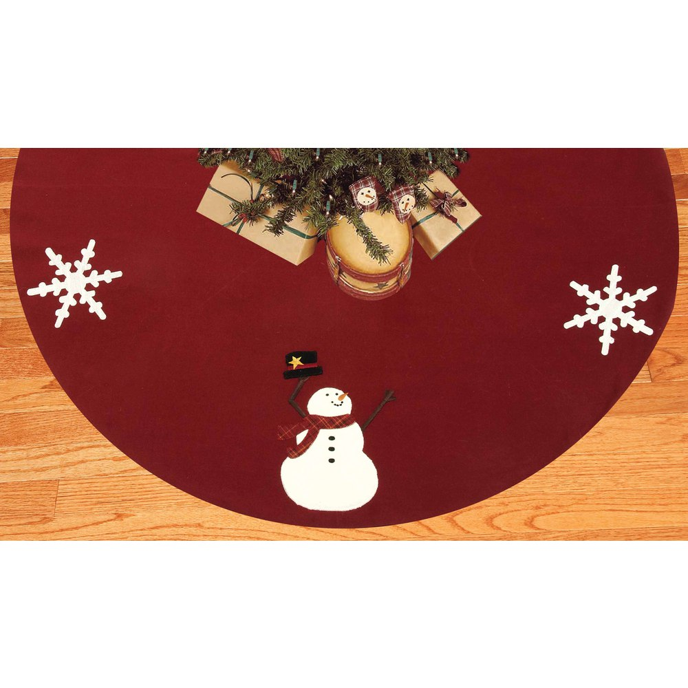 Happy Winter Days Tree Skirt