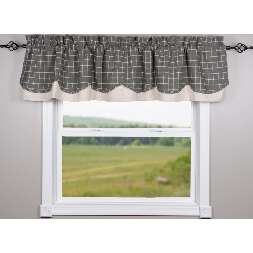 Summerville Pewter Fairfield Valance