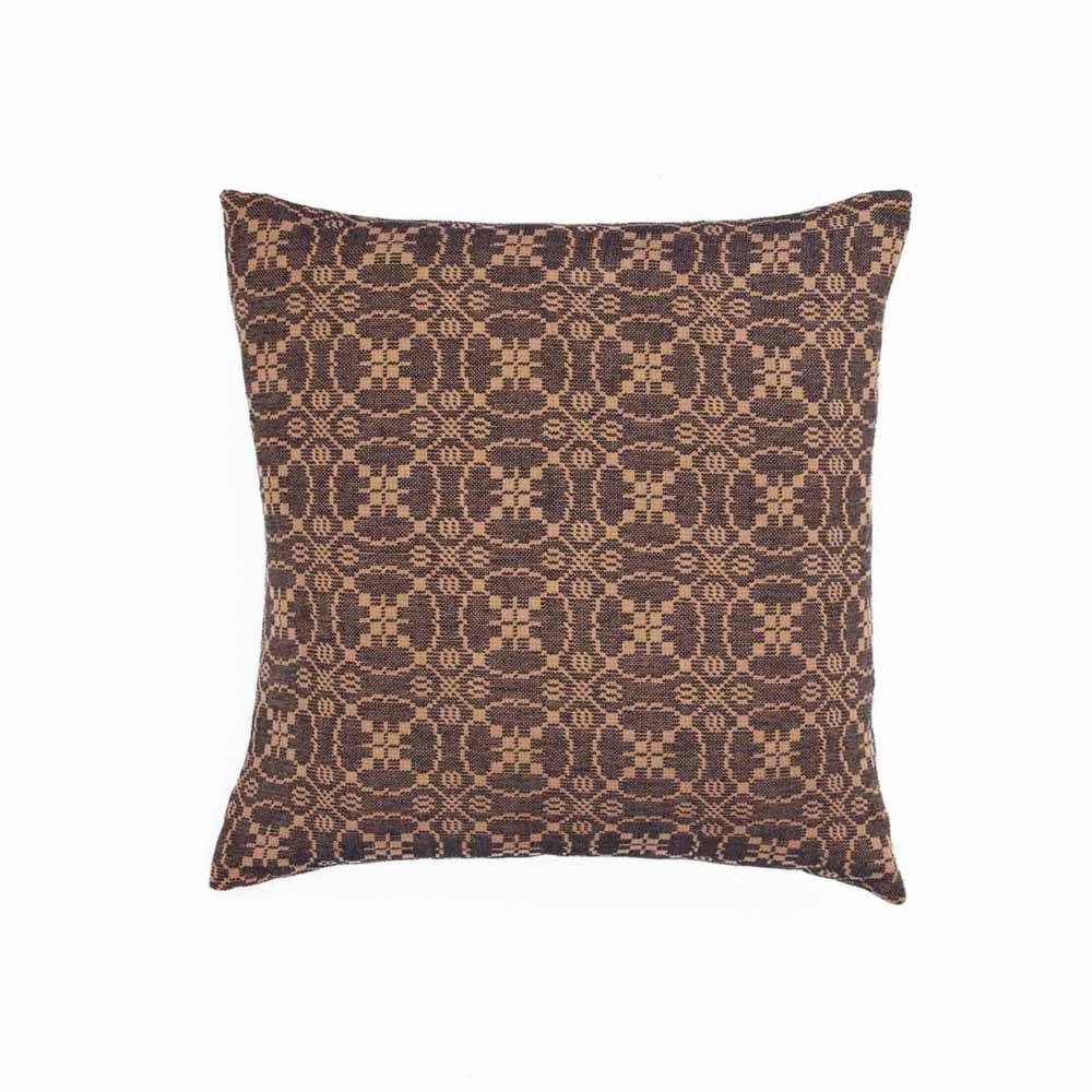 Marshfield Jacquard Pillow Cover Black