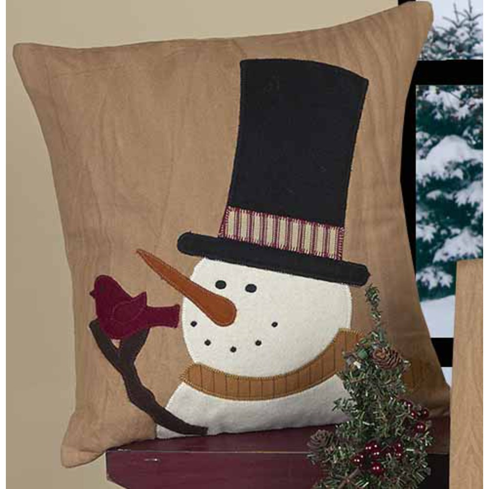 Snowman Sam Pillow