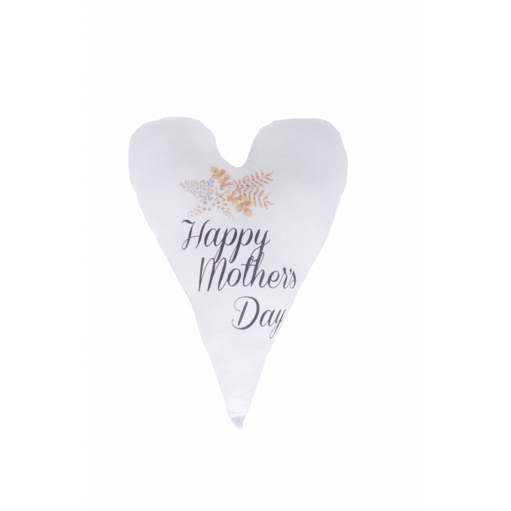 Happy Mother's Day White Pillow