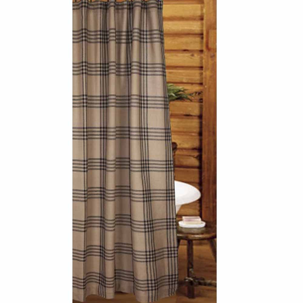 Chesterfield Check Shower Curtain