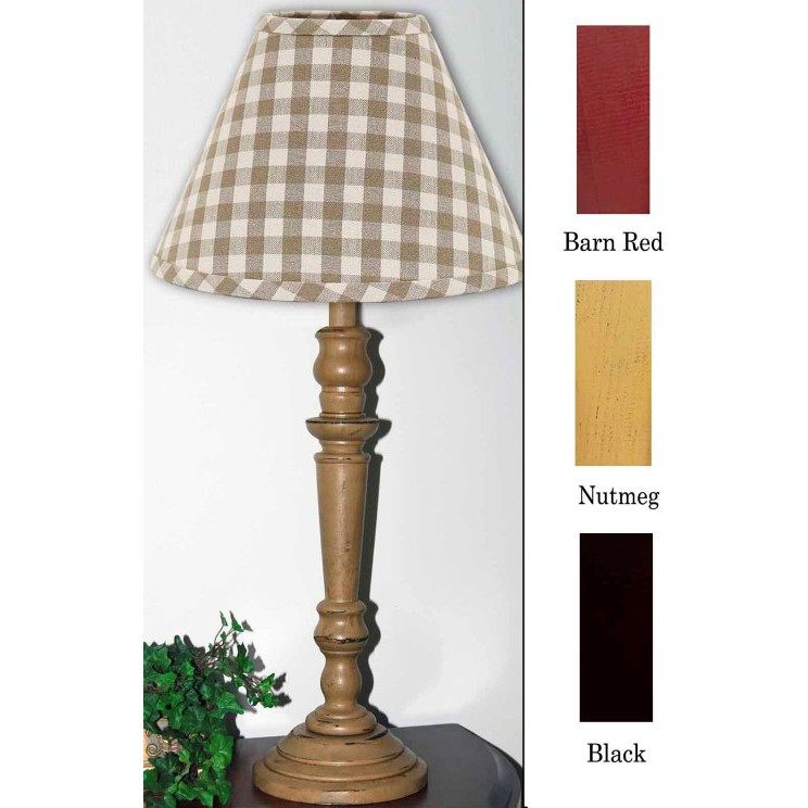 Wilmont Wood Table Lamp Barn Red
