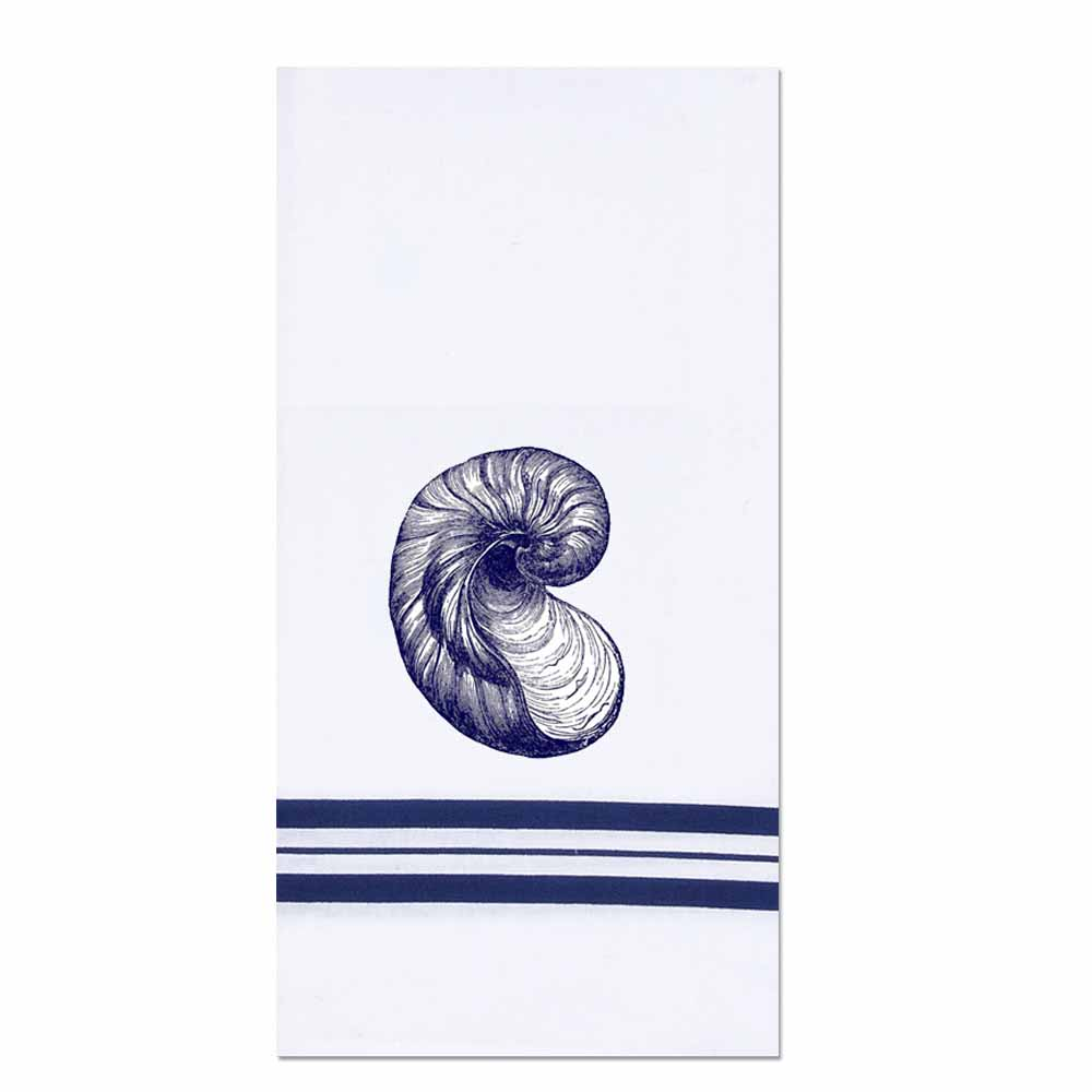 Nautilus Shell Towel