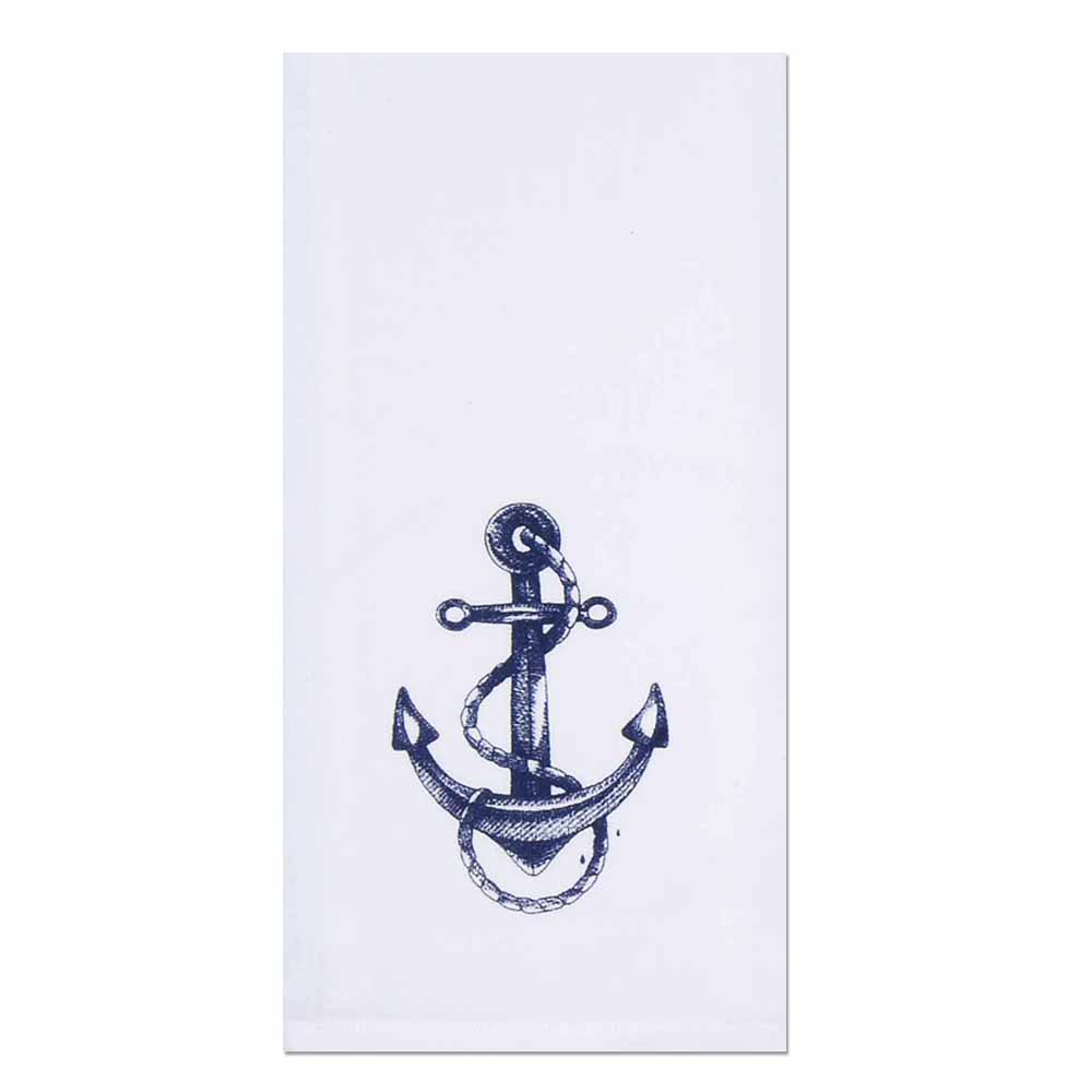 Anchor With Rope Towel