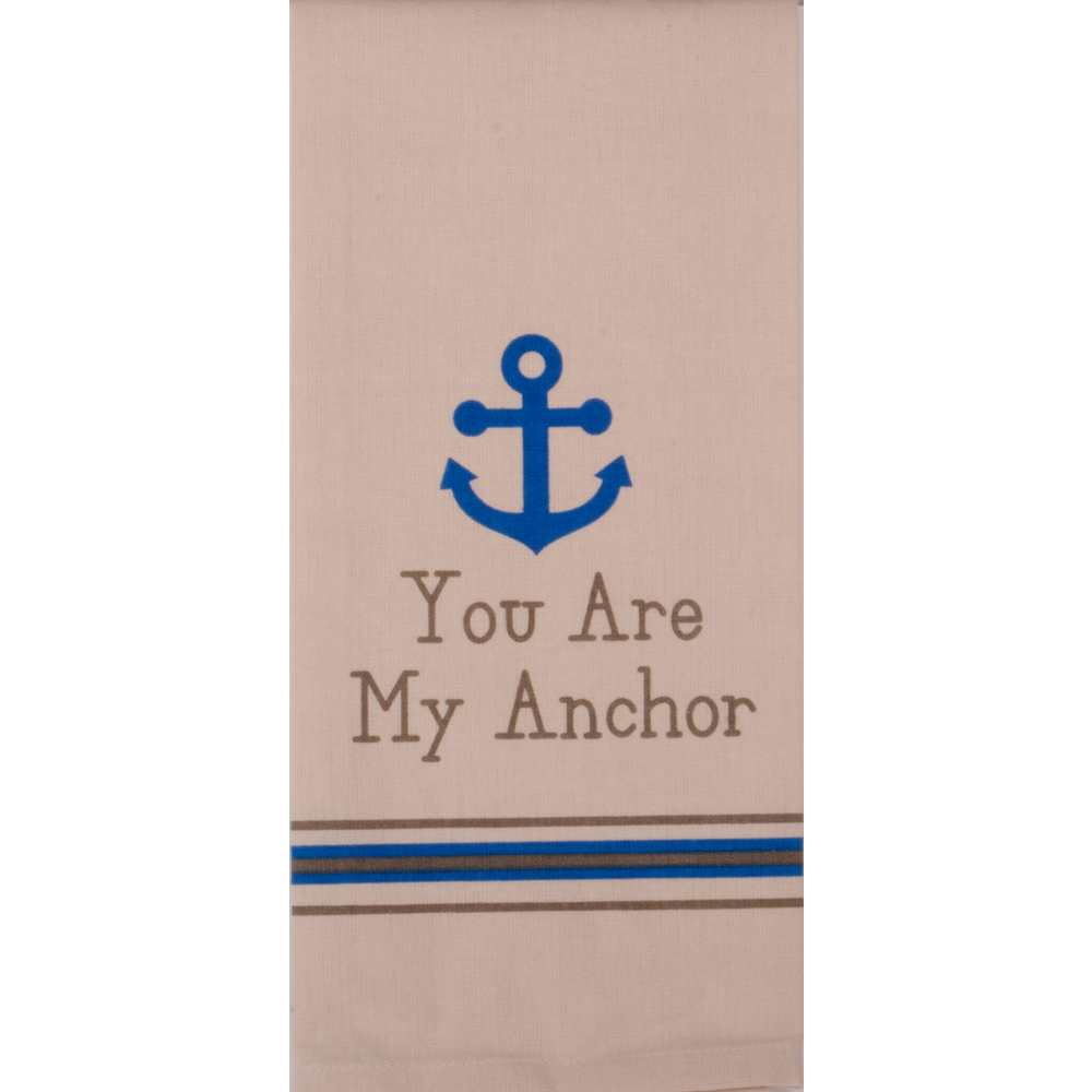You Are My Anchor Towel