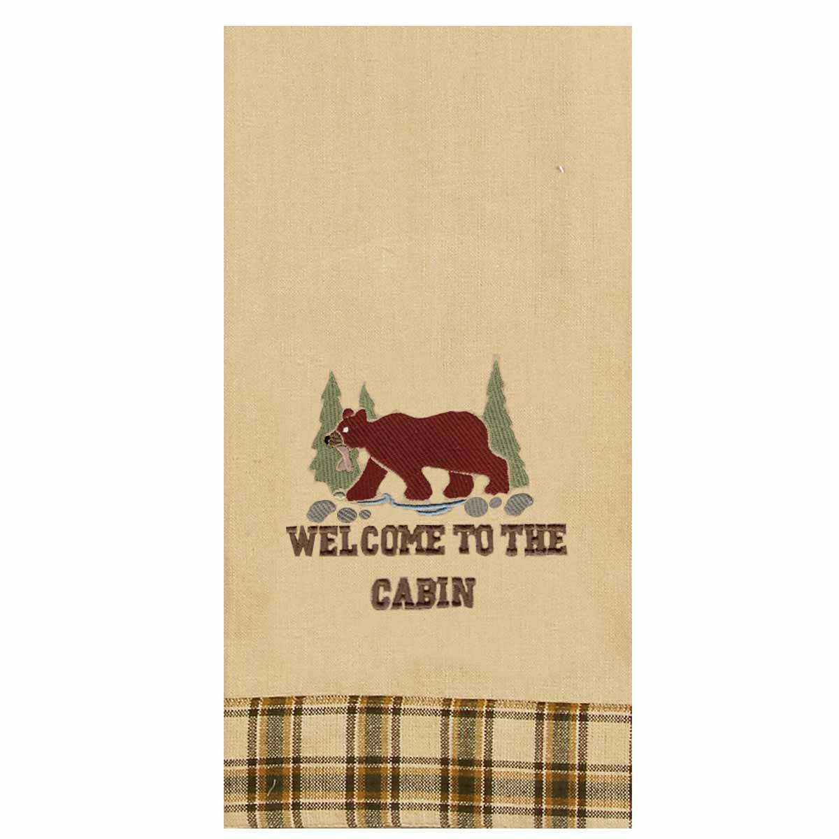 Welcome To The Cabin Towel