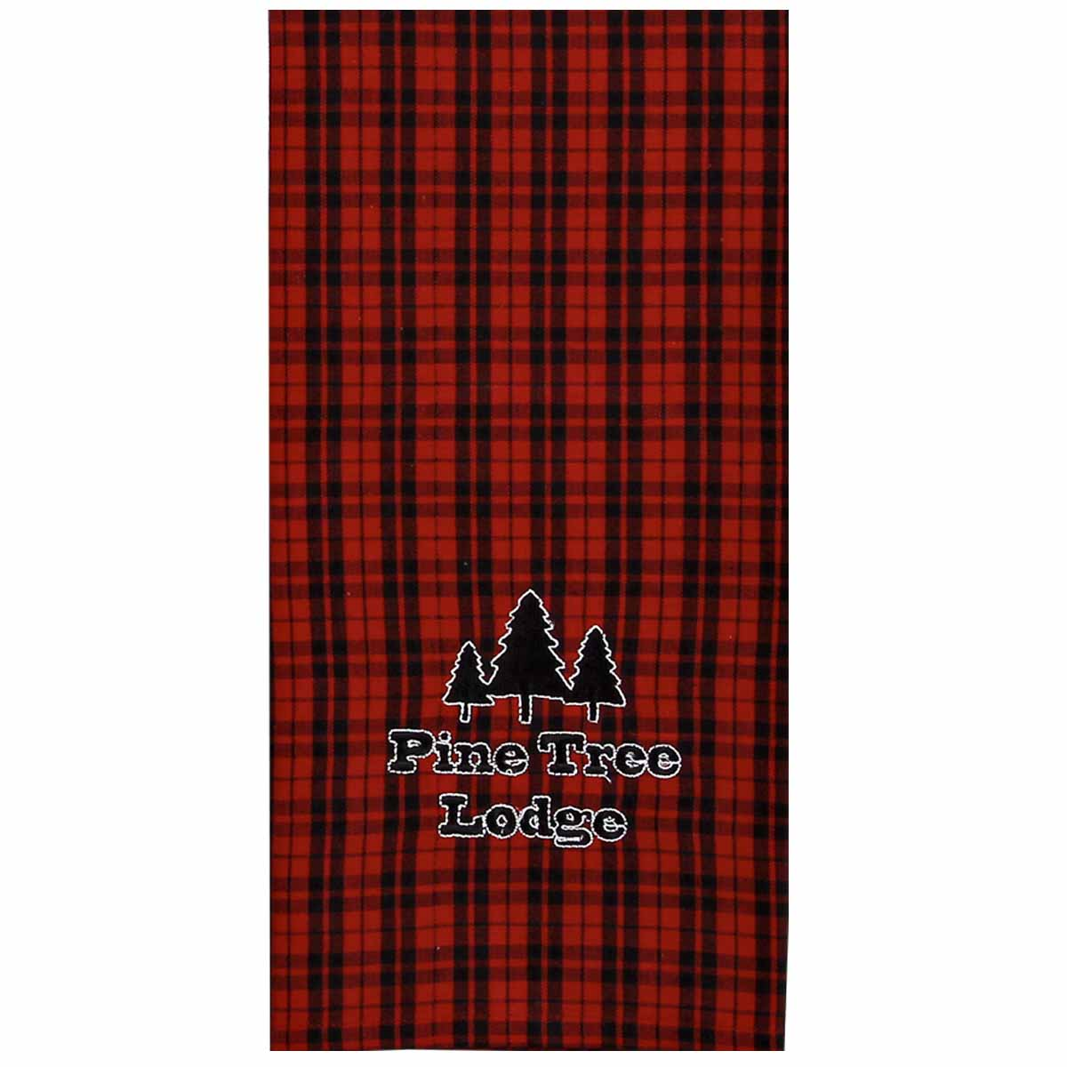 Pine Tree Lodge Towel
