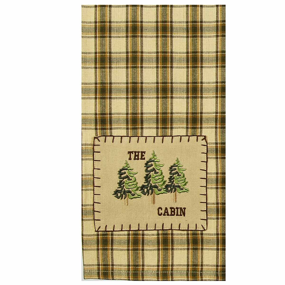 The Cabin Lodge Towel