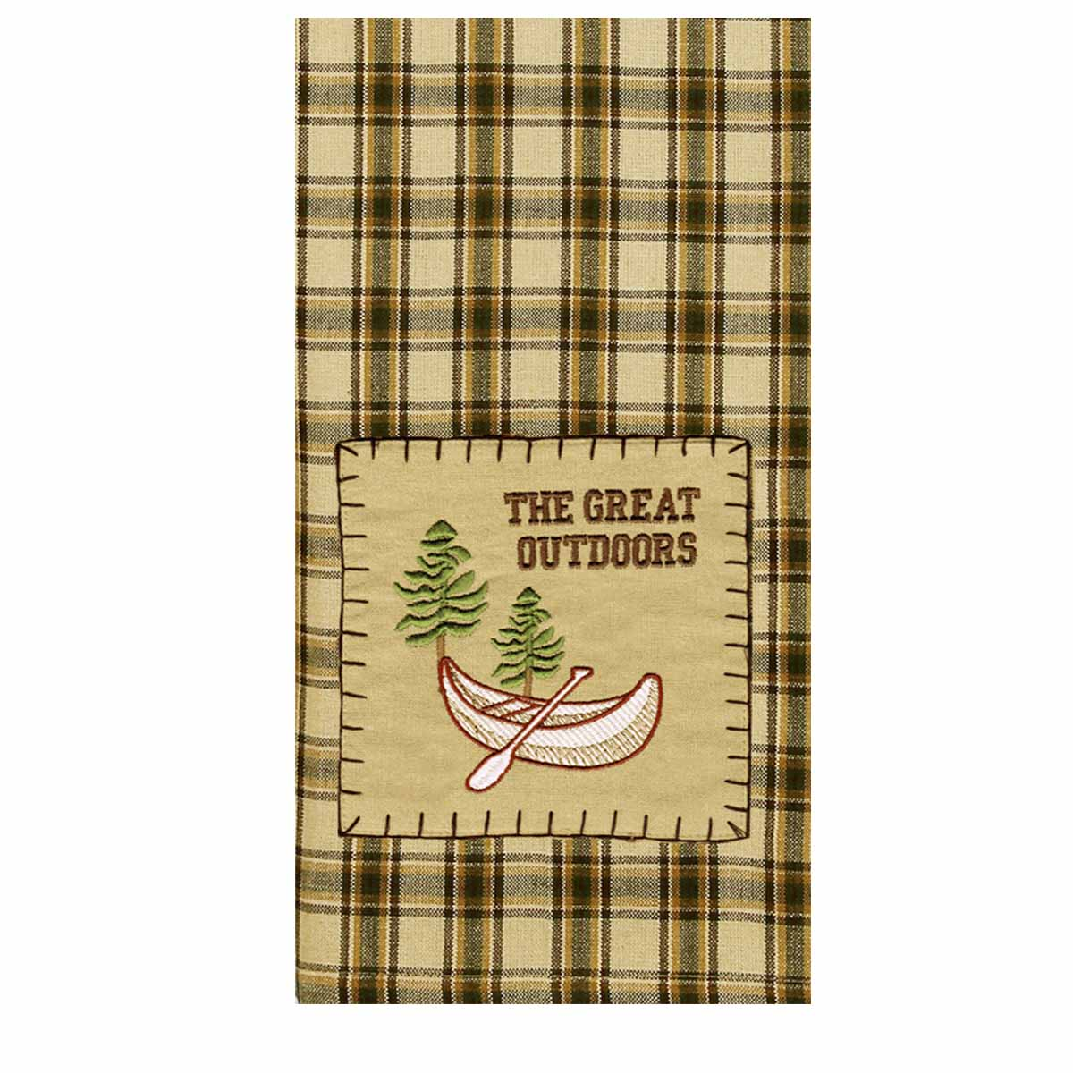 The Great Outdoors Lodge Towel