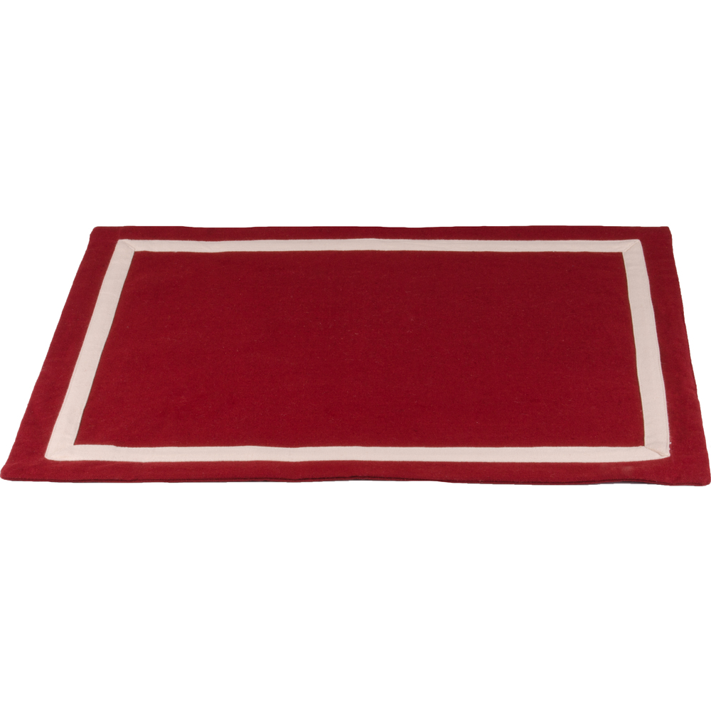 Drayton Barn Red-Buttermilk Placemat